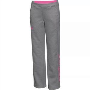 •Under Armour• Girls Storm Fleece Pants